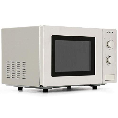 Bosch HMT72M450B Serie 2 Brushed Steel 800W Microwave with 17 Litre Capacity