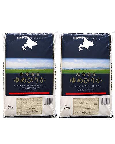 北海道産ゆめぴりか 10kg(5kg×2) 令和1年産 白米 お米