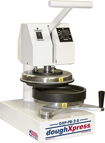 DoughXpress 71064 DXP-PB-2-8 Par Bake Dough Press, 8