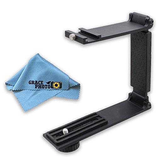 Mini Portable Folding Bracket + Grace Photo Cleaning Cloth