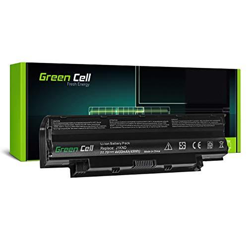 Green Cell® Standard Serie J1KND Laptop Akku für Dell Vostro 3450 3550 3555 3650 3750 1440 1450 1540 1550 2420 2520 (6 Zellen 4400mAh 11.1V Schwarz)
