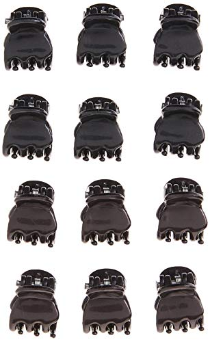 Goody Colour Collection Mini Claw Clips, Black