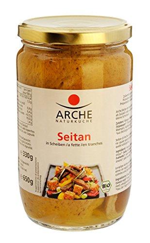 Arche Seitan-Scheiben in Sojasauce, 330 g