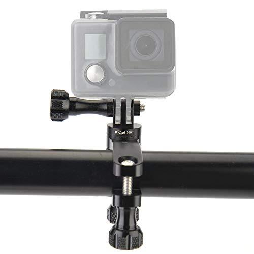 Serounder 360 Degree Rotation Bike Handlebar Mount Bracket for DJI OSMO Action for Gopro 7 6 5 4 for SJCAM for XiaoYi Action Camera