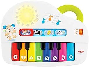 Piano Cachorrinho, Aprender e Brincar, Fisher Price, Mattel
