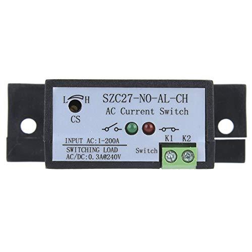 Interruptor de detección de corriente CA, larga vida útil SZC27-NO-AL-CH Interruptor de detección de corriente, para locomotora eléctrica con revestimiento electrolítico