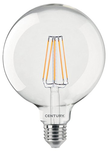 Century ing125 – 102727 enchantement Globe LED, culot E27, 10 W, 2700 K, 1500 lm, aluminium, neutre