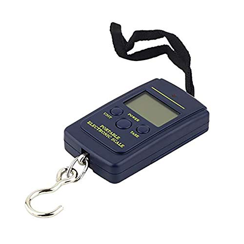 HXTXB 40kg X 10g Digital Scale, Used For Fishing Luggage Travel Weighing Steelyard Hanging Electronic Hook Scale Kitchen Weighing Tool Scale kitchen