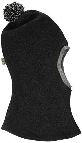 Buboo Helmet with Pompom Pasamontañas, Gris (Dark Grey Dark Grey), Large Unisex Adulto