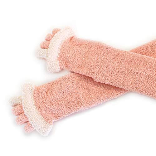 MARUKOマルコ足指リラックスルームソックス着圧足指広げる靴下くつしたくつ下フリーサイズピンク