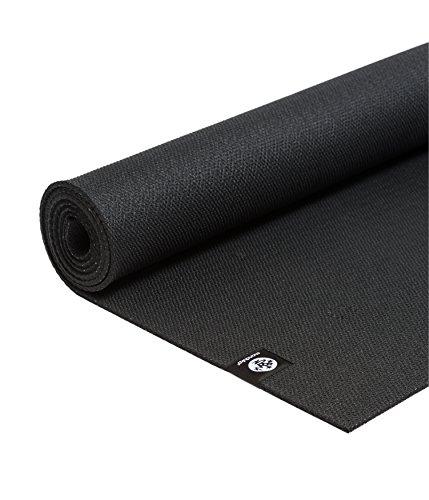 Manduka X Yoga und Übungsmatte, Black, schwarz