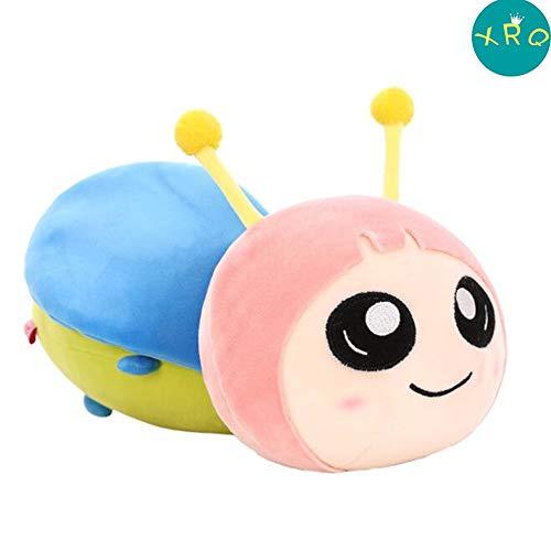 XRQ Plüsch Puppe, Kreative Glühwürmchen Kinderspielzeug Puppe, Niedlich Leuchtende Puppe, Geeignet Für Kinder Geschenke, Dekoration,Rosa,50cm