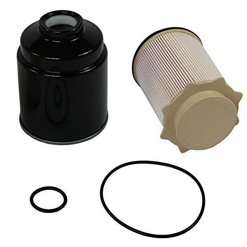 CARMOCAR Fuel Filter Water Separator Set replacement for Dodge 6.7L Cummins 2013-2017 Ram 2500 3500 4500 5500 Diesel Trucks