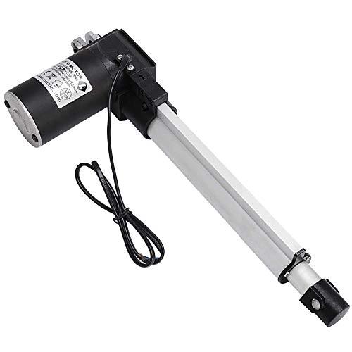VEVOR Actuador Lineal 6000 N Soporte de Montaje de Carrera de Actuador Lineal 200 mm, Actuador Lineal Resistente de Motor Eléctrico 12 V CC Velocidad de Desplazamiento 5 mm/s, Sofá, Elevador de TV