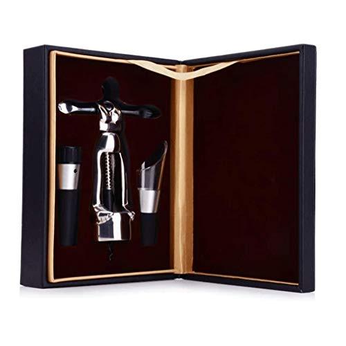 ZCJUX Rotwein Korkenzieher Korkenzieher-Upgrade-Kit Version, Wein Korkenzieher und andere Schraube Korkenzieher Korkenzieher Kit Professional-Version