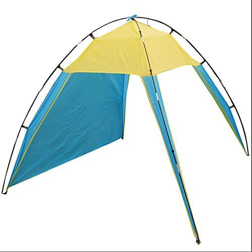 Tragbare Strand Zelt im Freien Sun Shelter Beach Zelt Sommer Anti-UV-Fischen-Zelt 200x200x150cm Camping Dachzelt