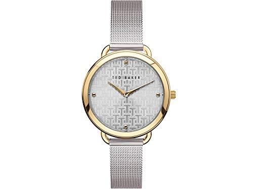 Ted Baker | Women's | Hettie | Silver Mesh Bracelet | Silver Pattern Dial | BKPHTF902