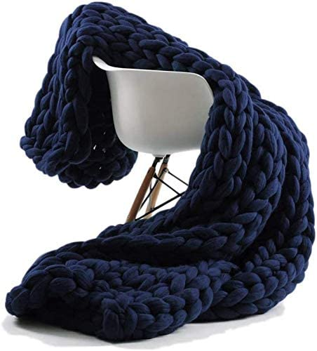 Chunky Knitted Throw Blankets Premium Award-winning store Soft Minneapolis Mall Cozy Bulky f