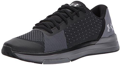 Under Armour Women's Showstopper Sneaker, Black (001)/Graphite, 11