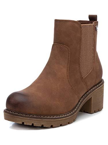 REFRESH Damen Chelsea Boots Camel 36