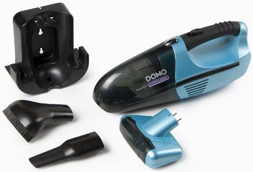 Handstaubsauger mit motorisierter Rollbürste, aufladebare 14,4Volt Batterie, blau