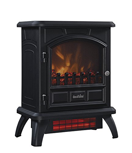 Duraflame Infrared Electric Fireplace Stove Heater, Black - DFI-500-4