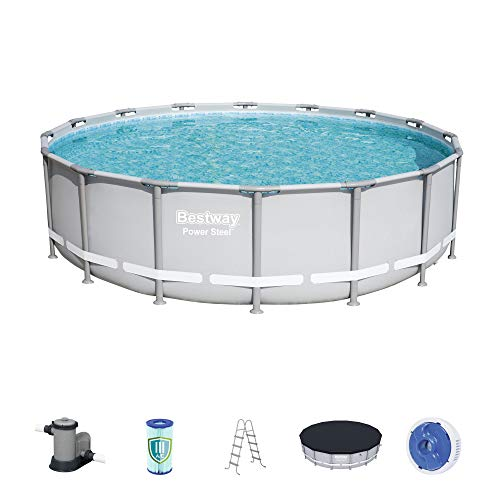 Bestway 56388E Power Steel Frame Pool Set, 20' x 48'