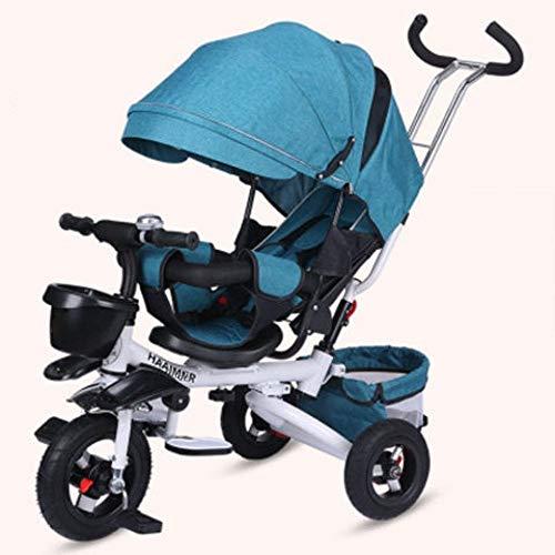 GWCD-STC Triciclos La Bicicleta Plegable para bebé del Triciclo para niños Puede...