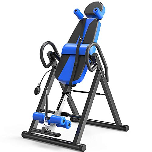 Cheap MUYIER Inverted Machine, Home Gym Training Upside Down Folding Device-Let The Tired Lumbar Spi...
