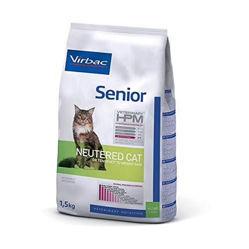 Virbac Veterinary HPM Vet Cat Senior Neutered Nourriture pour Chat 7 kg