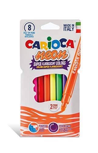 Carioca A52342785 - Pack de 8 rotuladores