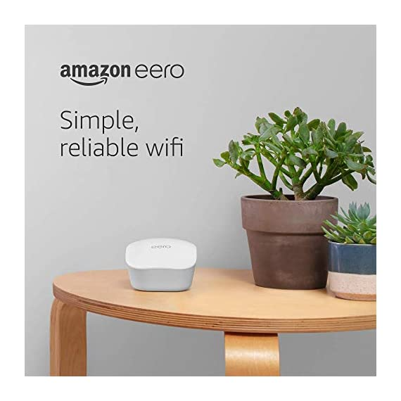 Amazon eero mesh wifi router 10 fast standalone router - the eero mesh wifi router brings up to 1,500 sq. Ft. Of fast, reliable wifi to your home. Works with alexa - with eero and an alexa device (not included) you can easily manage wifi access for devices and individuals in the home, taking focus away from screens and back to what's important. Easily expand your system - with cross-compatible hardware, you can add eero products as your needs change.