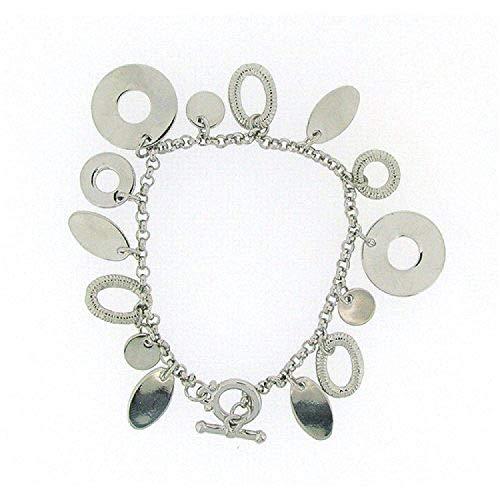 Pierre Cardin Ladies - Girls Silver Plated Multi Charm Bracelet