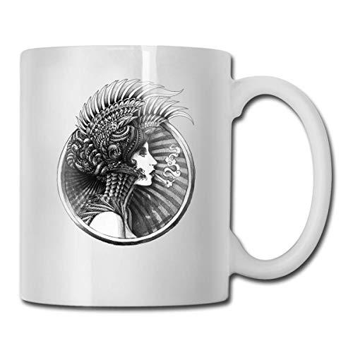 NR Walküre Kaffee & Tee Keramik Tasse Becher
