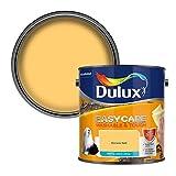 Dulux 403201 Easycare Washable & Tough Matt Emulsion Paint For Walls And Ceilings - Banana Split 2.5L