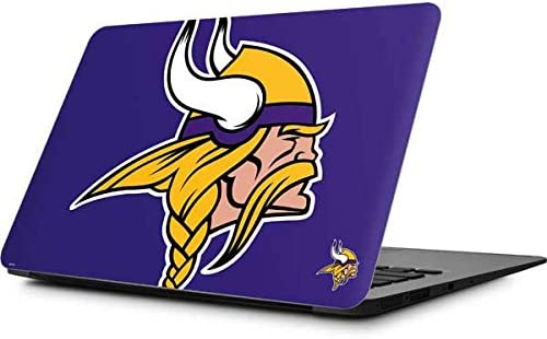 Skinit Decal Laptop Skin Compatible with MacBook Air 11 6 2010 2017 Officially Licensed NFL product image