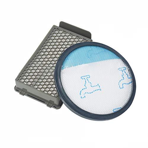 2 Stück Filterpatronen Filter Filtersystem für Rowenta RO3715 RO3795 RO3798 Vacuum Cleaner Mop Staubsauger Waschbar & Wiederverwendbar Vorfilter Ersatzteil