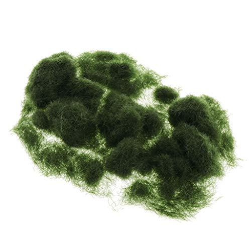 IPOTCH Césped Artificial de Hierba Sintética de Exterior para Jardín y Terraza...