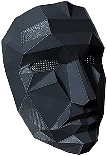 Máscara de Juego de Calamar de Hombre...