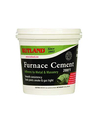Rutland Products Black, 32 fl oz Furnace Cement