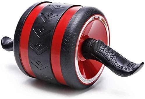 No Logo Ab rodillos for entrenamiento del ABS for el entrenamiento del ABS Ab Roller Wheel Ajuste su núcleo brazos hacia atrás hombros entrenamiento de la fuerza principal entrenamientos del gimnasio