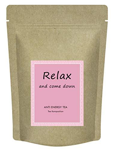 """""""Relax & come down"""" Tee - Anti energy tea - Mit Melisse, Lavendel, Fenchel, Ingwer und weiteren Kräutern - Relax Tee zum Entspannen - 75 g loser Kräutertee"""