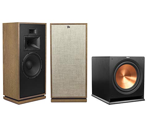 Cheapest Price! Klipsch Forte III Heritage Series Tower Speakers (Pair, Distressed Oak) with Klipsch...