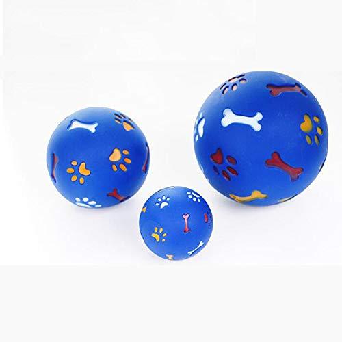 XB 3 STÜCK Hundespielzeug Gummiball Kauspender Leckage Lebensmittel Spielball Interaktive Pet Dental Kinderkrankheiten Trainingsspielzeug
