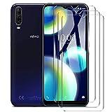 HYMY 3 Pack Cristal Vidrio Templado para WIKO View 4 - Transparente Protector de Pantalla Película Protectora Protector Anti-Scratch Anti-Sucio HD Screen Protection
