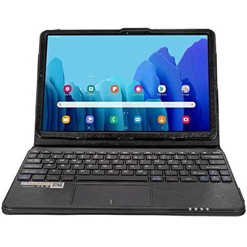 MQ für Galaxy Tab S7 11' - Bluetooth Tastatur Tasche mit Multifunktions-Touchpad für Samsung Galaxy Tab S7 | Tastatur Hülle für Galaxy Tab S7 11 LTE SM-T875 WiFi T870 | Tastatur Deutsch QWERTZ