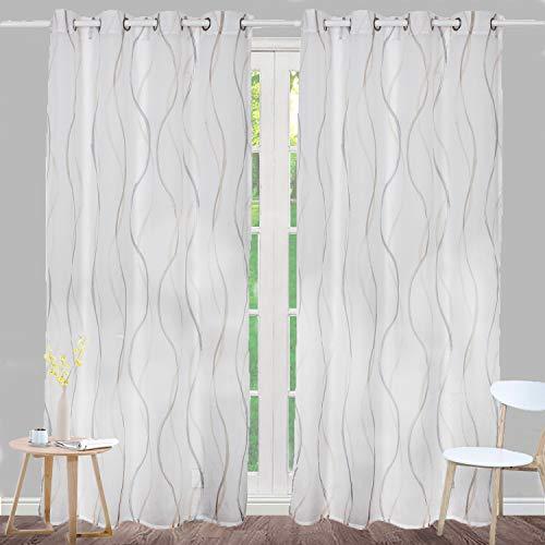cortinas habitacion marron claro