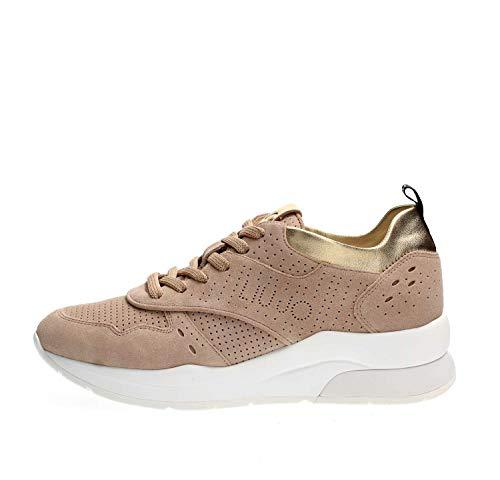 Liu Jo B19009 PX025 Sneakers Donna Beige 38