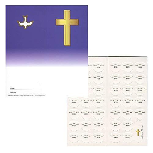 Quarter Coin Folders for Christian Organizations Fundraising Holds $10.00 - 50 Folders Blank