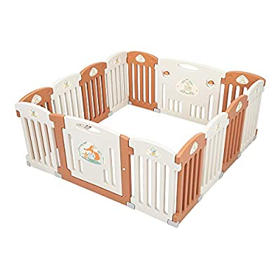 14 Panel Baby Gate Baby Playpen Safety Play Yar...